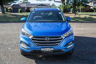 2017 Hyundai Tucson TL MY18 Active X 2WD Ara Blue 6 Speed Manual Wagon.