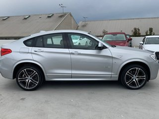 2017 BMW X4 F26 xDrive35i Coupe Steptronic Silver 8 Speed Automatic Wagon.