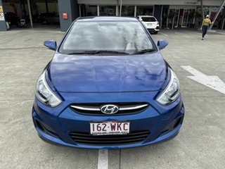 2016 Hyundai Accent RB4 MY16 Active Blue 6 Speed Constant Variable Sedan.