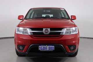 2015 Fiat Freemont JF MY15 Red 6 Speed Automatic Wagon.