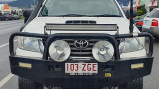 2012 Toyota Hilux KUN26R MY12 SR Double Cab White 5 Speed Manual Cab Chassis