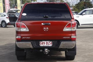 2012 Mazda BT-50 UP0YF1 XTR Copper Red 6 Speed Sports Automatic Utility
