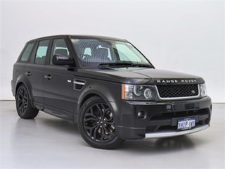 2011 Land Rover Range Rover MY11 Sport 3.0 TDV6 Santorini Black 6 Speed Automatic Wagon.
