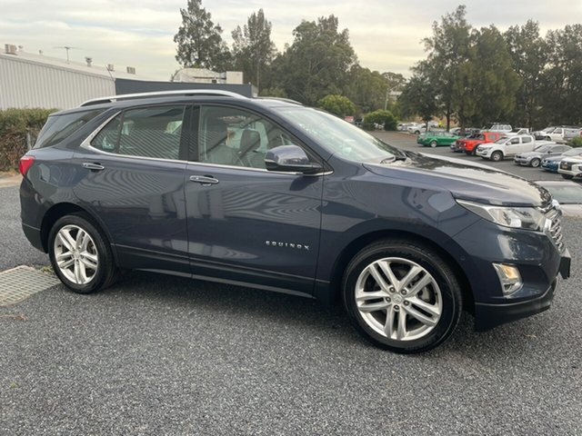 Used Holden Equinox EQ MY18 LTZ FWD Maitland, 2017 Holden Equinox EQ MY18 LTZ FWD Blue 9 Speed Sports Automatic Wagon