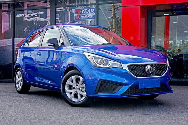 New MG MG3 SZP1 MY21 Core (Nav) Springwood, 2021 MG MG3 SZP1 MY21 Core (Nav) Blue 4 Speed Automatic Hatchback