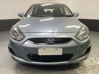 2018 Hyundai Accent RB6 MY18 Sport Silver 6 Speed Sports Automatic Hatchback.