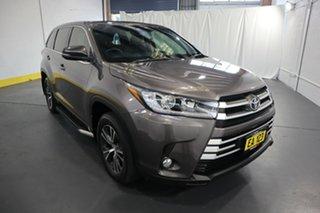 2017 Toyota Kluger GSU50R GX 2WD Grey 8 Speed Sports Automatic Wagon.