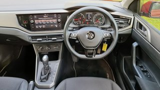 2017 Volkswagen Polo AW MY18 Launch Edition DSG Orange 7 Speed Sports Automatic Dual Clutch