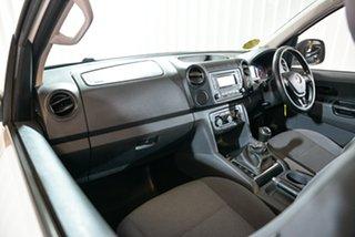 2015 Volkswagen Amarok 2H MY15 TDI400 4MOT Core White 6 Speed Manual Cab Chassis