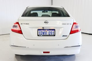 2012 Nissan Maxima J32 MY11 350 X-tronic ST-S White 6 Speed Constant Variable Sedan