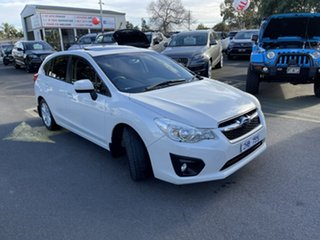 2012 Subaru Impreza G4 MY13 2.0i-L Lineartronic AWD White 6 Speed Constant Variable Hatchback.