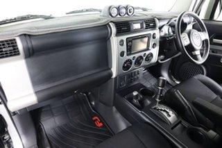 2012 Toyota FJ Cruiser GSJ15R Silver 5 Speed Automatic Wagon
