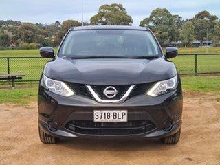 2016 Nissan Qashqai J11 ST Black 1 Speed Constant Variable Wagon.