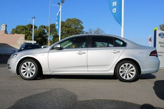 2012 Ford Falcon FG MkII G6 EcoBoost Silver 6 Speed Sports Automatic Sedan
