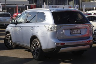 2014 Mitsubishi Outlander ZJ MY14.5 PHEV AWD Aspire Blue 1 Speed Automatic Wagon Hybrid.