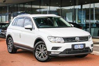 2017 Volkswagen Tiguan 5N MY17 110TSI DSG 2WD Comfortline White 6 Speed Sports Automatic Dual Clutch.