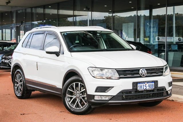 Used Volkswagen Tiguan 5N MY17 110TSI DSG 2WD Comfortline Gosnells, 2017 Volkswagen Tiguan 5N MY17 110TSI DSG 2WD Comfortline White 6 Speed Sports Automatic Dual Clutch