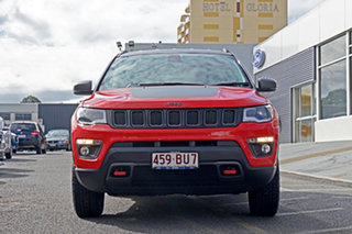 2018 Jeep Compass M6 MY18 Trailhawk Red 9 Speed Automatic Wagon.