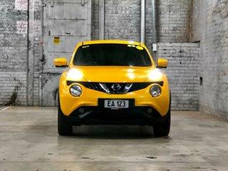 2015 Nissan Juke F15 Series 2 Ti-S 2WD Yellow 6 Speed Manual Hatchback.