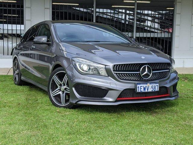 Used Mercedes-Benz CLA-Class X117 CLA250 Shooting Brake DCT 4MATIC Sport Victoria Park, 2015 Mercedes-Benz CLA-Class X117 CLA250 Shooting Brake DCT 4MATIC Sport Grey 7 Speed