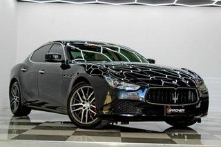 2014 Maserati Ghibli M157 Black 8 Speed Automatic Sedan.