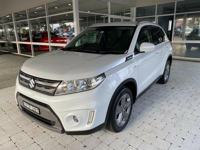 Used Suzuki Vitara RT-S Taree, 2017 Suzuki Vitara RT-S White Sports Automatic Wagon