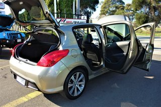2012 Peugeot 308 T7 MY12 Allure Gold 6 Speed Sports Automatic Hatchback