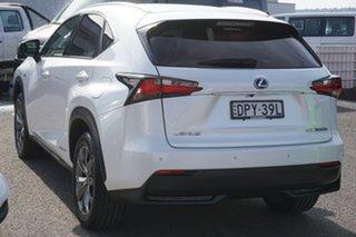 2017 Lexus NX AYZ15R NX300h E-CVT AWD Luxury White 6 Speed Constant Variable Wagon
