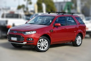 2014 Ford Territory SZ TS Seq Sport Shift Red 6 Speed Sports Automatic Wagon.