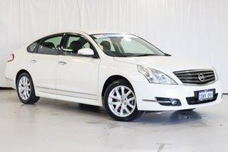 2012 Nissan Maxima J32 MY11 350 X-tronic ST-S White 6 Speed Constant Variable Sedan.
