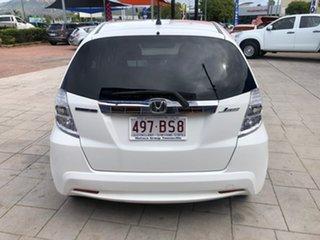 2014 Honda Jazz Hybrid White 1 Speed Constant Variable Hatchback Hybrid