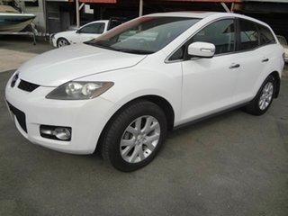 2007 Mazda CX-7 ER Luxury (4x4) White 6 Speed Auto Activematic Wagon.