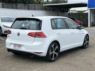 2014 Volkswagen Golf VII MY15 GTi White 6 Speed Manual Hatchback.