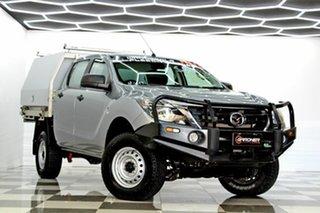 2018 Mazda BT-50 MY18 XTR Hi-Rider (4x2) Grey 6 Speed Manual Dual Cab Utility.