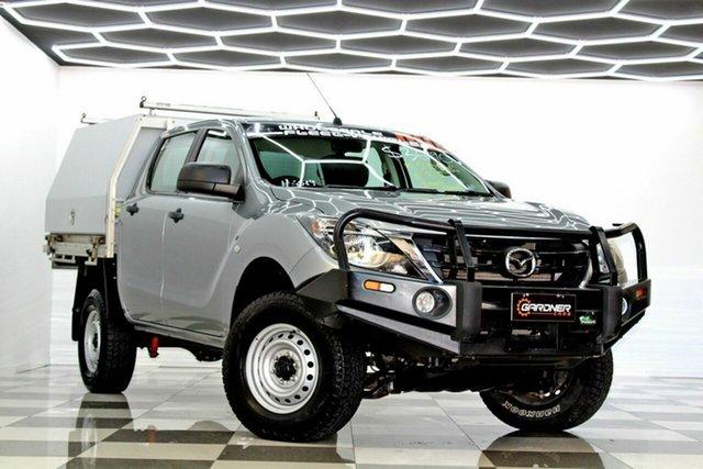 Used Mazda BT-50 MY18 XTR Hi-Rider (4x2) Burleigh Heads, 2018 Mazda BT-50 MY18 XTR Hi-Rider (4x2) Grey 6 Speed Manual Dual Cab Utility