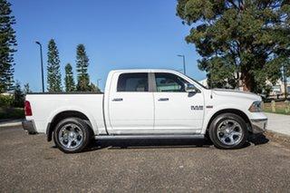 2018 Ram 1500 Laramie Crew Cab SWB Bright White 8 Speed Automatic Utility