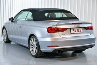 2014 Audi A3 8V MY15 Attraction S Tronic Silver 7 Speed Sports Automatic Dual Clutch Cabriolet