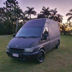 2003 Ford Transit VH High Roof Black 5 Speed Manual Van.