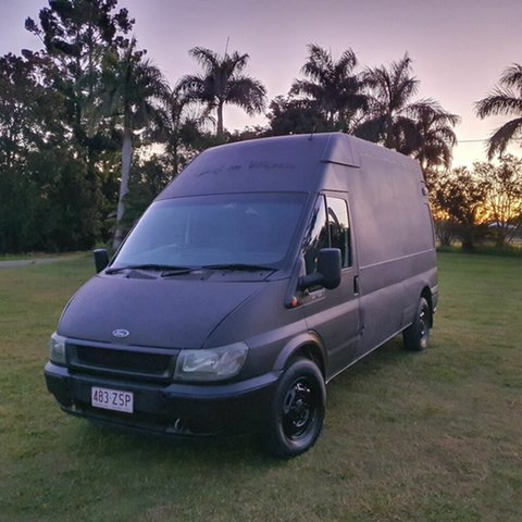 Used Ford Transit VH High Roof Alberton, 2003 Ford Transit VH High Roof Black 5 Speed Manual Van