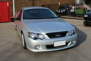 2007 Ford Falcon BF MkII XR6 Silver 4 Speed Auto Seq Sportshift Utility.