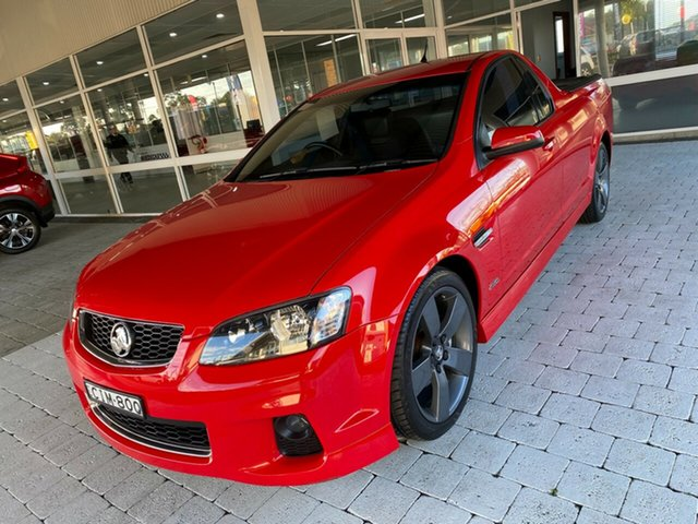 Used Holden Ute Taree, 2012 Holden Ute SV6 - Z Series Red Manual Extracab