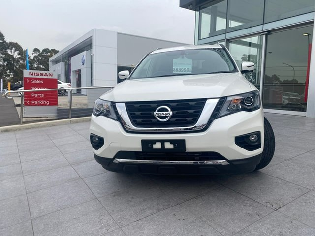 Used Nissan Pathfinder R52 Series III MY19 Ti X-tronic 2WD Liverpool, 2019 Nissan Pathfinder R52 Series III MY19 Ti X-tronic 2WD Ivory 1 Speed Constant Variable Wagon