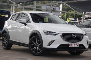 2018 Mazda CX-3 DK2W76 sTouring SKYACTIV-MT Snowflake White 6 Speed Manual Wagon.