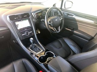 2016 Ford Mondeo MD Titanium White Platinum 6 Speed Sports Automatic Dual Clutch Wagon.