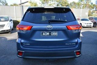 2017 Toyota Kluger GSU55R Grande AWD Blue 8 Speed Sports Automatic Wagon.
