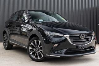 2021 Mazda CX-3 DK4W7A Akari SKYACTIV-Drive i-ACTIV AWD Jet Black 6 Speed Sports Automatic Wagon.