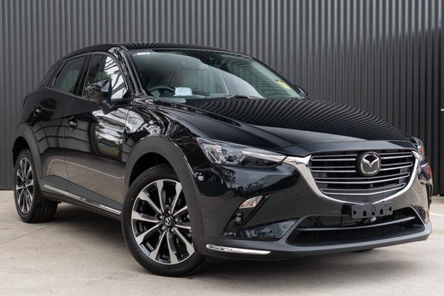New Mazda CX-3 DK4W7A Akari SKYACTIV-Drive i-ACTIV AWD Mornington, 2021 Mazda CX-3 DK4W7A Akari SKYACTIV-Drive i-ACTIV AWD Jet Black 6 Speed Sports Automatic Wagon