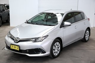 2017 Toyota Corolla ZRE172R Ascent S-CVT Silver 7 Speed Constant Variable Sedan.