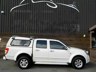2010 Great Wall V240 K2 Super Luxury White 5 Speed Manual Utility.