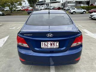 2016 Hyundai Accent RB4 MY16 Active Blue 6 Speed Constant Variable Sedan